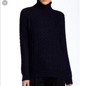 XS Navy blue Vince turtleneck sweater. Beautiful!!
